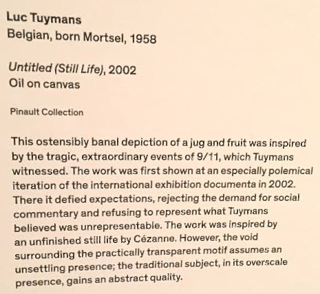 Untitle (Still Life) - museum description